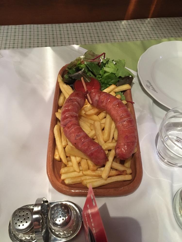 Sausage & Fries