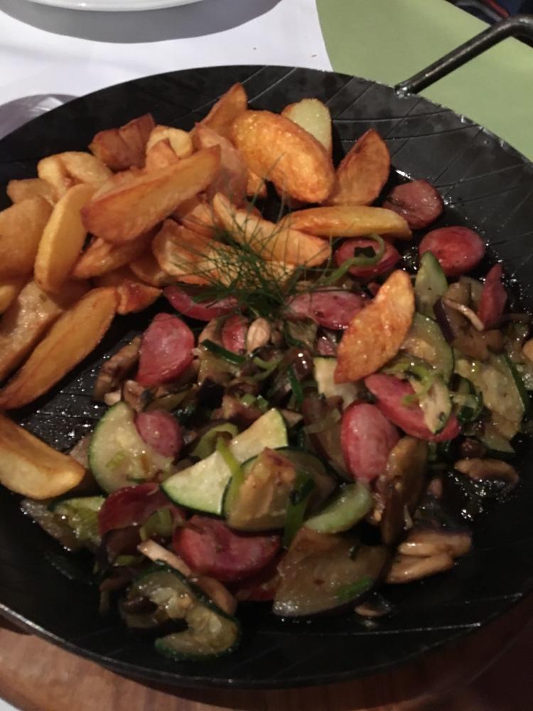 Grilled Sausage Platter